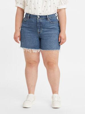 501® Original High-Rise Jean Shorts (Plus Size)