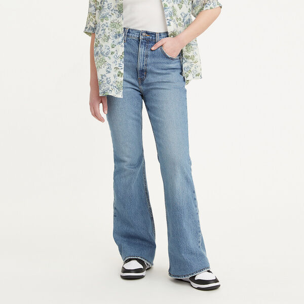 70s High Flare Jeans