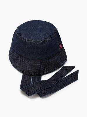 Feminine Denim Bucket Hat