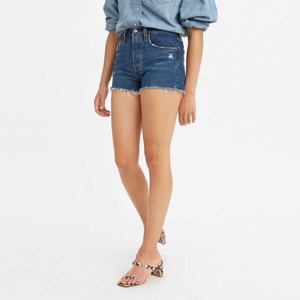 501® Original High-Rise Jean Shorts