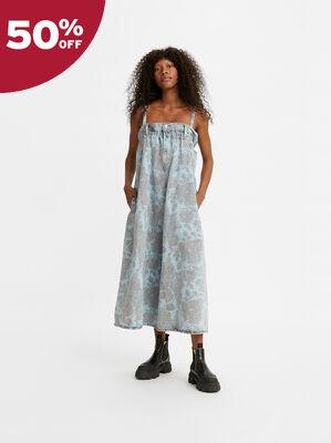 Levi's® x GANNI Cinched Denim Dress