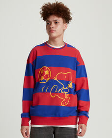 Levi's® x Peanuts® Striped Relaxed Crewneck Sweatshirt