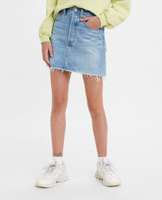 Ribcage Denim Skirt