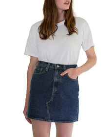 High-Waisted Deconstructed Iconic Skirt