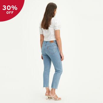 Levi's® Australia 501® Original Cropped Jeans Tango Tunes