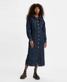 Levi's® x GANNI Collared Long Dress