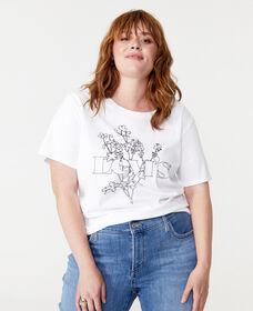 Graphic Surf T-Shirt (Plus Size)