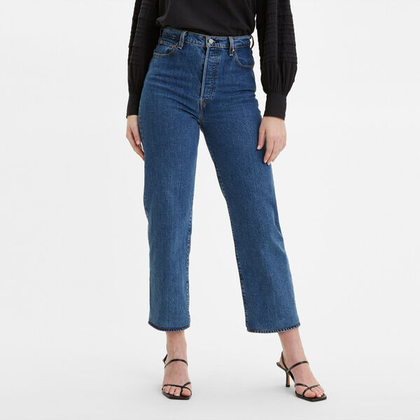 Ribcage Straight Ankle Jeans