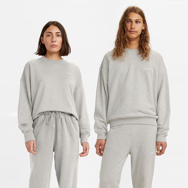 Red Tab Sweats Crewneck Sweatshirt