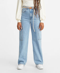 Utility High Loose Jeans