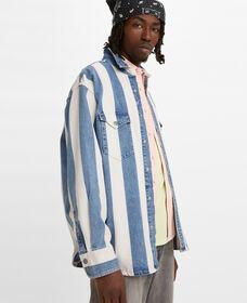 Oversized Barstow Denim Western Shirt