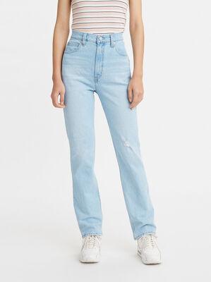 70s High Slim Straight Jeans