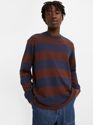Red Tab Long Sleeve T-shirt
