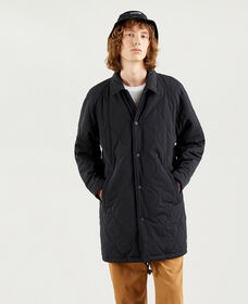Ellis Quilted Coaches Coat