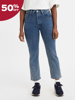 Levi's® Made & Crafted® 501® Original Cropped Jeans
