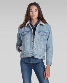 Ex-Boyfriend Sherpa Trucker Jacket