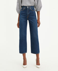 Levi's® WellThread™ Ribcage Straight Ankle Jeans