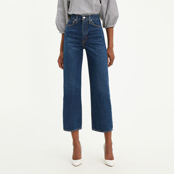 Levi's® WellThread™ Ribcage Straight Ankle Jeans Ground ...