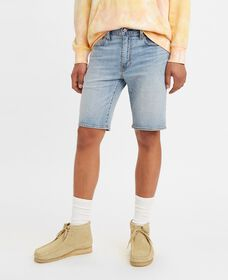 Standard Fit Denim Shorts
