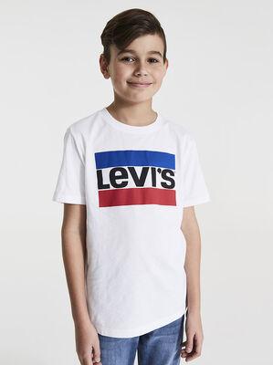 Boys Sportswear Logo Tee Shirt