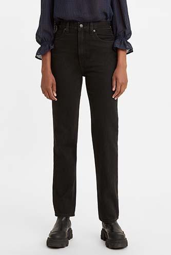 Shop 70s High Slim Straight Jeans